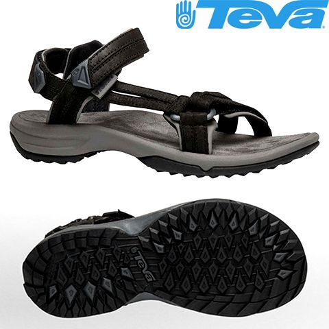 8966.513-8 - Сандалі чоловічі Terra Fi Lite Leather M's black