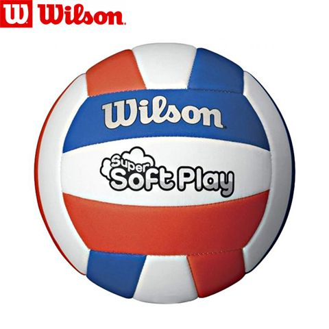 WTH3595XB - М'яч волейбольний SUPER SOFT PLAY VB RDWHBL BULK SS16