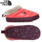 T0APPQ-NLL-M - Тапки утеплені WOMEN'S NSE TENT SLIPPERS FAUX FUR II shiny calypso coral/deep garnet red