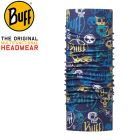 115082.790.10.00 - JUNIOR HIGH UV funny skulls dark navy