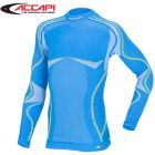 A790.943-3XS - Термофутболка дитяча Ergoracing Long Sleeve Shirt Jr Electric Blue